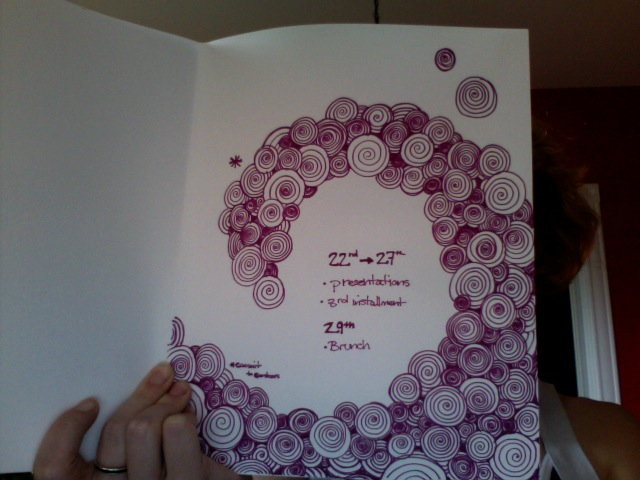on doodling with words victoria v e schwab